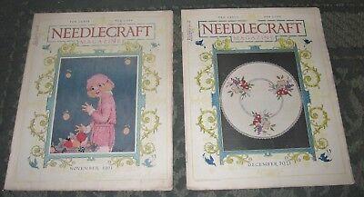 2 NOVEMBER 1921 AND DECEMBER 1921 PUBLICATIONS - NEEDLECRAFT