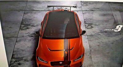 Jaguar XE Project 8 ***PDF Brochure*** - 2018 - NOT a paper brochure!