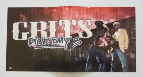 Grits Dichotomy G Promo LP Record Photo Flat 12x24 Poster