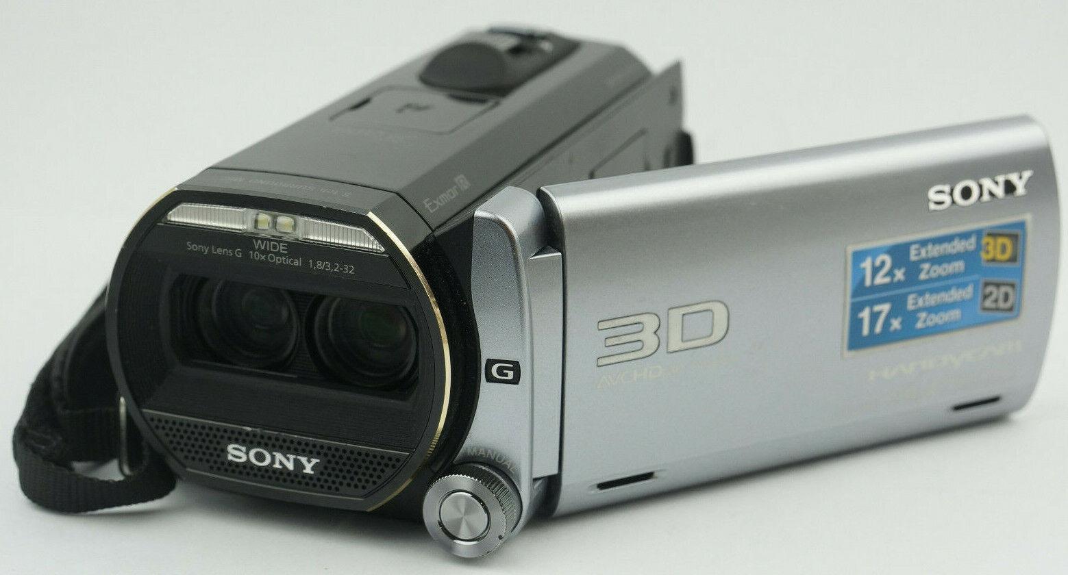 "Sony HDR-TD20VE 3D Camcorder Handycam +3,5"" LCD 64 GB vom Fachhändler ""TOP"""