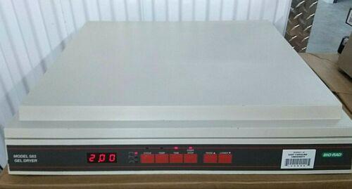 Bio-Rad 583 Slab Gel Dryer Electrophoresis 35x45cm Cat# 165-1745 *Power Tested*
