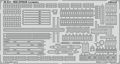 Eduard Accessories 48841 - 1:48 Mig-23Mld Weapons For Trumpeter - Ätzsatz - Neu