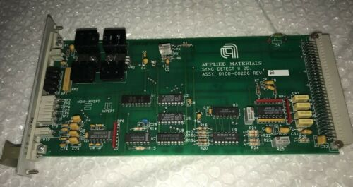 AMAT Applied Materials Sync Detect II BD. Assy 0100-00206 Rev B