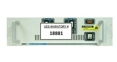 Esi Electro Scientific Industries 61322 B.p. High Voltage Power Supply Working