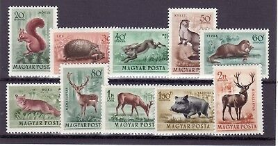 HUNGARY SC C45-52 NH issue of 1947 - HISTORICAL PLACES