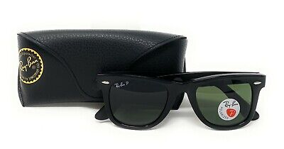 Ray-Ban Polarized Sunglasses RB2140 901 Black 50mm/G-15 Green Lens