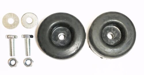 "2 PK Extreme Heavy Duty Rubber Foot Pad Vibration 1"" X 2.5"" Pressure Washers"
