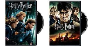 Harry Potter and the Deathly Hallows DVD Part 1 & Part 2....BRAND NEW SEALED