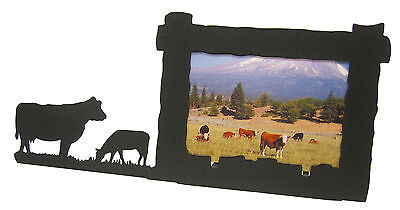 Cow Calf Picture Frame 4x6 H
