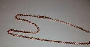 100% Copper Double Link Chain Necklace 24