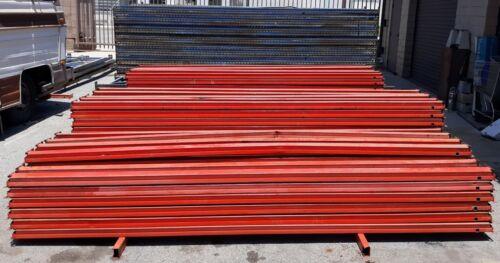 "Pallet Racking Cross Beams 132"" x 4"" Orange Shelves Shelving"