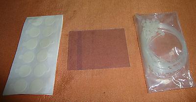 24 Stück PVC Etikettenträger 53 x 70 mm Namensschilder Ausweishüllen  2699