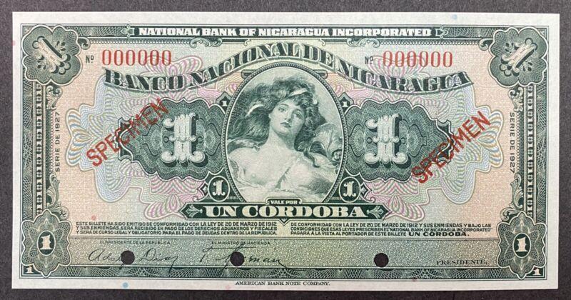 Nicaragua Specimen Banknote P 62a