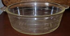 Large Glass  Vintage Agee Pyrex Australia Casserole Dish Windsor Hawkesbury Area Preview