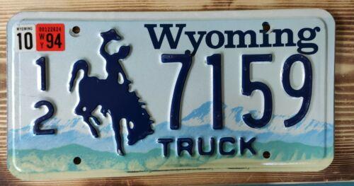 USA Nummernschild/Kennzeichen/license plate/US car/Harley/Deco * Wyoming  *