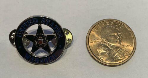 U.S. MARSHAL Hat Lapel Pin