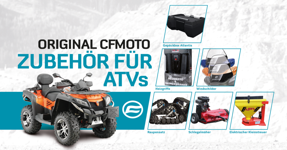 QUAD & ATV - CFMOTO CForce 1000 V2 EFI 4×4 LOF in Bartow