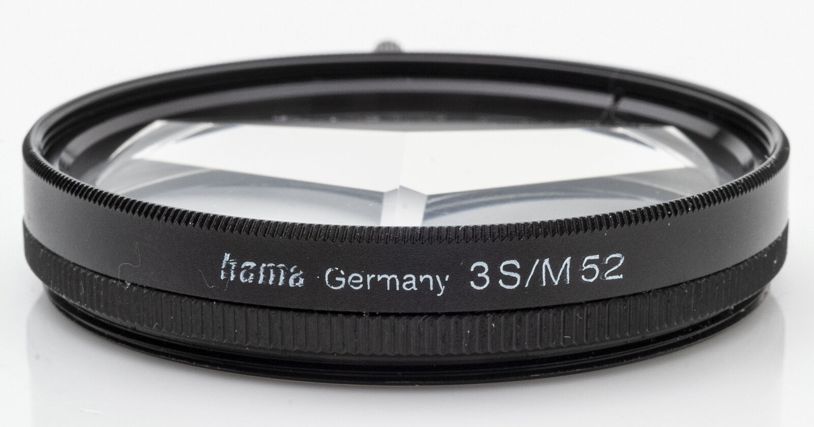 Hama 3S/M52mm 52 mm Effektfilter Tricklinse 3-fach Prisma mit Justierhebel