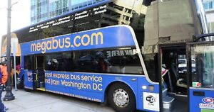 MEGABUS TICKETS 50% off HOLIDAY SPÉCIAL