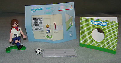 PLAYMOBIL 4709 Football figure - England + ALL ACCESSORIES VGC