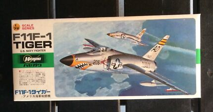 Hasegawa F11F-1 Tiger US Navy Fighter 1/72 Model Kit