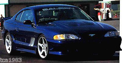 FORD SALEEN MUSTANG S351 / S-351 SPEC SHEET/Brochure: 1994,1995, 1996,.....
