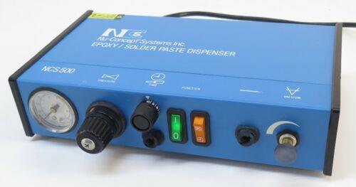 Nu-Concept Systems NCS 500 Epoxy / Solder Paste Dispenser