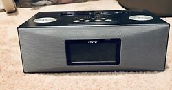 iHome Dual Dock Alarm Clock Radio and Audio System