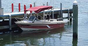 Savage Streaker 5.02m with 90Hp Mariner, trailer rego until 02/17 Seabrook Hobsons Bay Area Preview