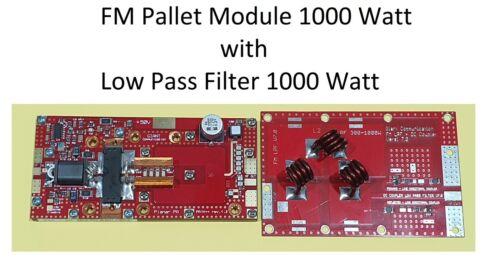 RF Amplifier Module 1000W 87.5-108Mhz 1kw FM Broadcast Band Planar 1000 Watt