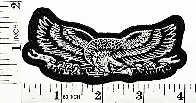 Eagle Hawk Bird Flying Wild Animal Choppers Lady Rider Biker Tatoo Jacket Patch for sale  Shipping to Canada