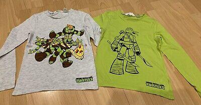 2er Pack H&M Sweatshirt Langarmshirt Ninja Turtles Gr. - Ninja Turtle Sweatshirt