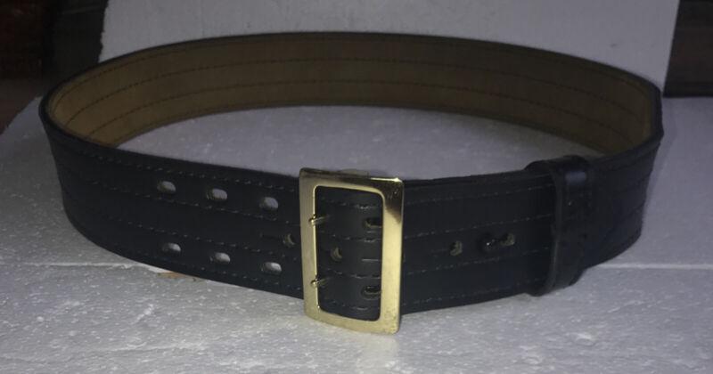 Safariland 4-Row Stitch Safarilaminate Duty Leather Belt MDL 87 40/100