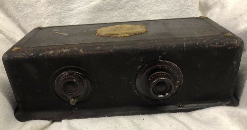 Antique 1920's Vintage Atwater Kent Model 35 Tube Radio Receiver PARTS/PROJECT