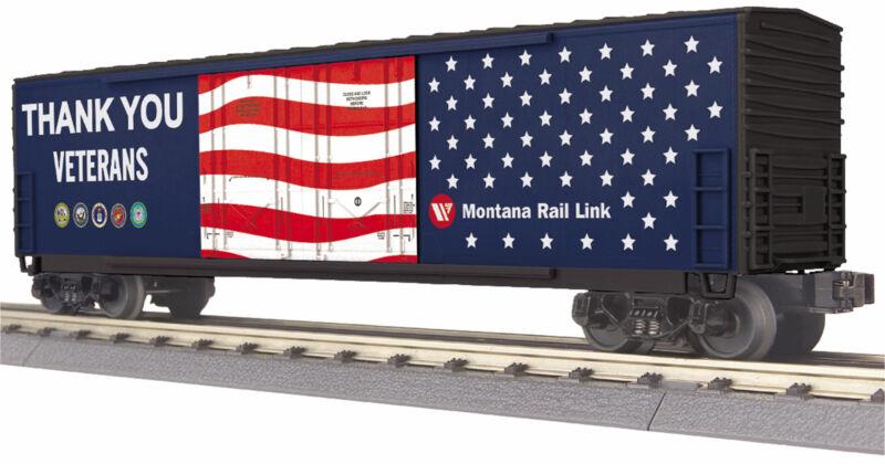 MTH Trains 30-71048 Montana Rail Link Veterans 50