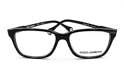 Dolce & Gabbana DG 1238 501 Eyeglasses Optical Frames Glasses Black (Dolce Gabbana Frame Glasses)