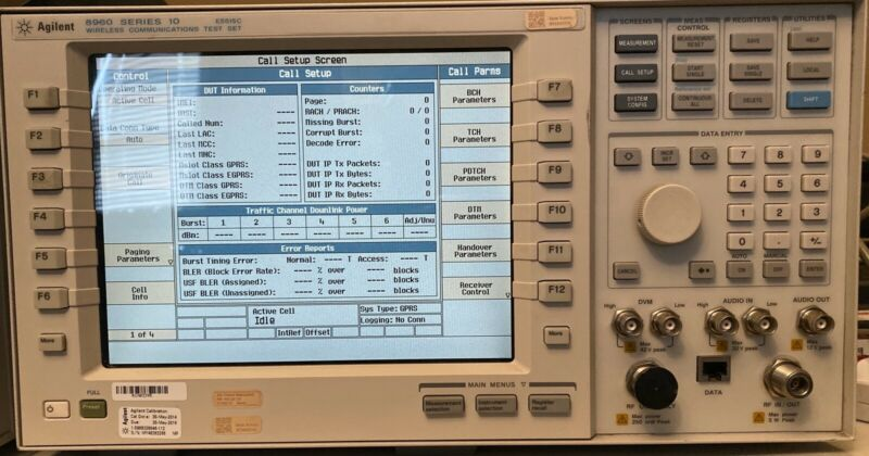 Agilent 8960 Series 10 E5515C Wireless Communication Test Set Opt 002 & 003