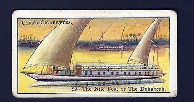 COPE - BOATS OF THE WORLD - #22 THE NILE BOAT
