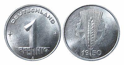 1501 1 Pfennig DDR 1950 A in STG-  100005