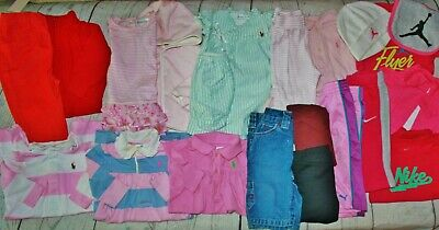 Adorable Baby Girls 0/3, 3. 3/6 Months  CLOTHING Lot Of 26 Pieces