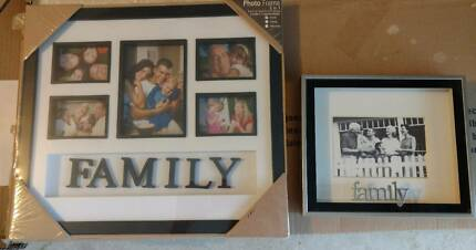 BNIB Family Photo Frames x2
