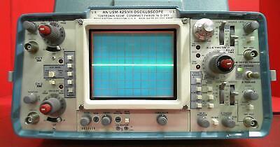 Tektronix 465m B038616 Oscilloscope Anusm-425v 100 Mhz 2 Channel