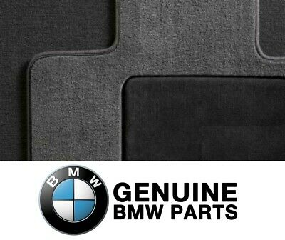 For BMW F25 F26 X3 X4 Genuine Front and Rear Black Carpeted Floor Mats Set NEW