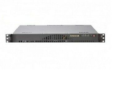 Supermicro Asterisk Trixbox Voip Pbx C512 1u Rack Basic Server Black Expandable