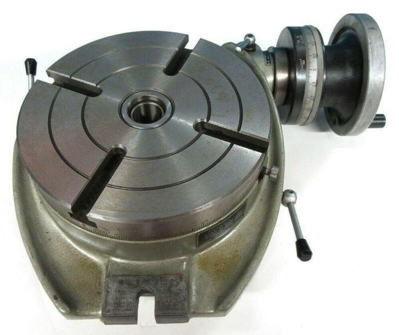 "NEW! PHASE ll 220-008 8"" HORIZONTAL ROTARY TABLE BRAND NEW /OLD SCHOOL QUALITY"