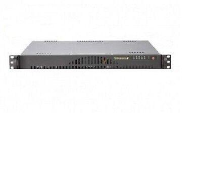 Supermicro Asterisk Trixbox Voip Pbx C512 1u Rack Pro Server Black Expandable