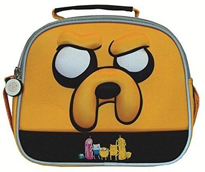 Adventure Time Jake The Dog 3D Lunch Bag Box Tote Insulated Cartoon Network Food