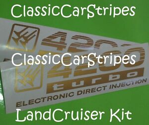 LandCruiser-4200-turbo-100-Series-Gold-Decal-sticker