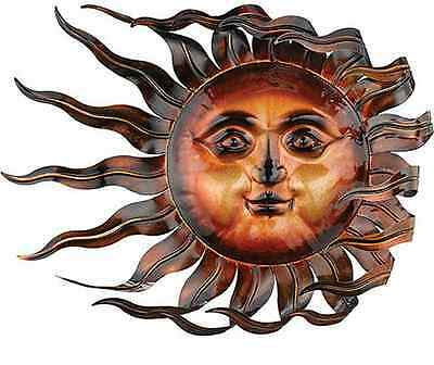 Sunswept Sun Face Wall Art Wind Blown ...