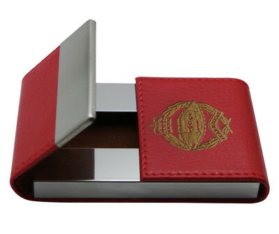 ROYAL TANK REGIMENT Card Case Engraved Business ID Member Pass Holder Wallet